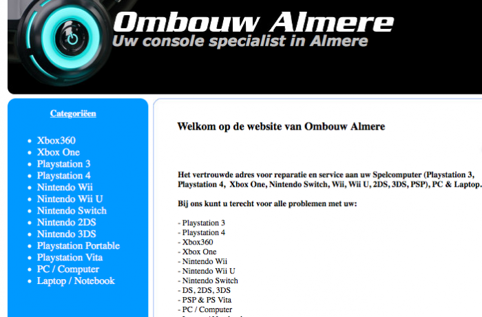 Ombouw Almere